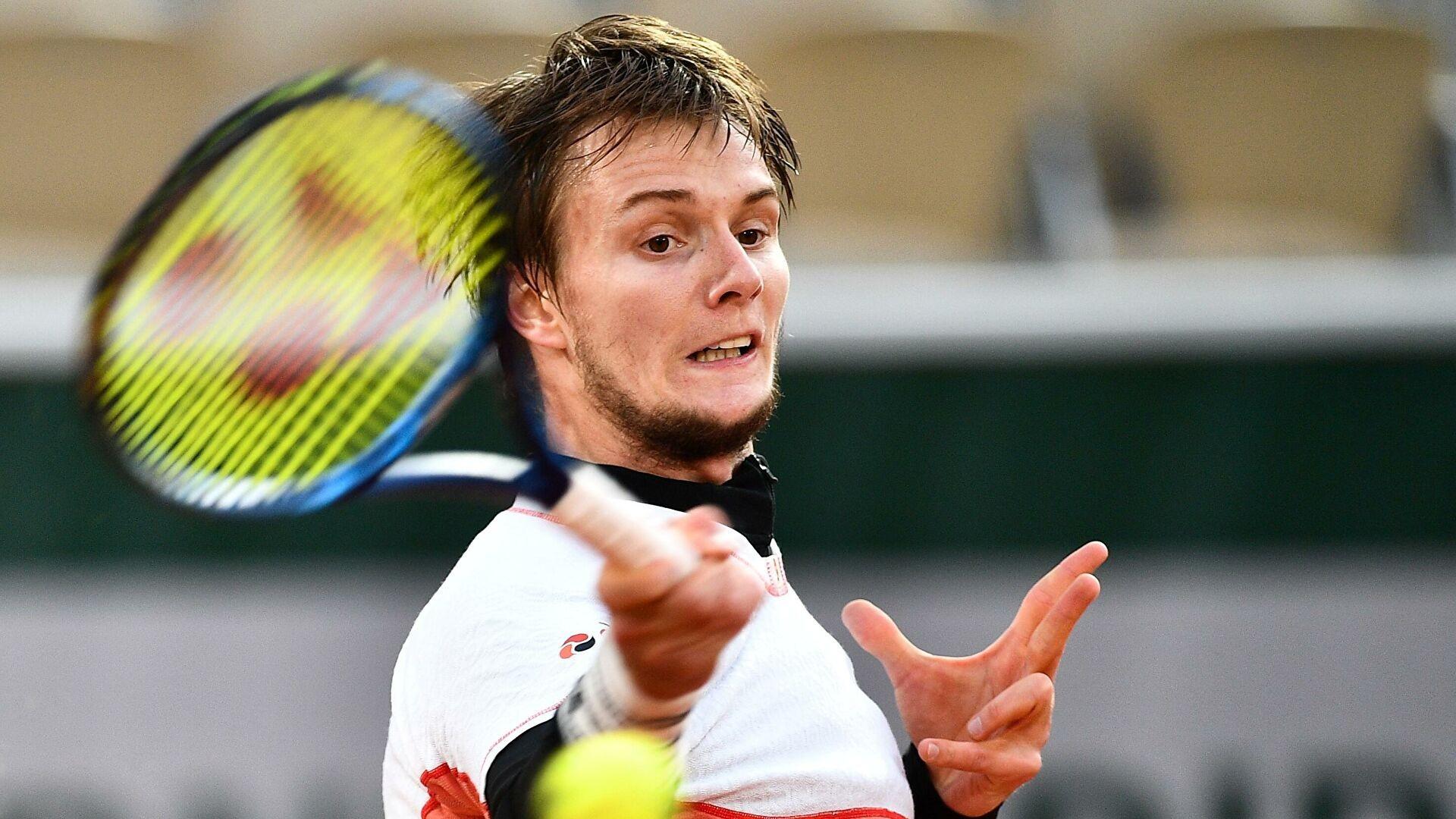 Александр Бублик уступил в четвертьфинале турнира в Истборне