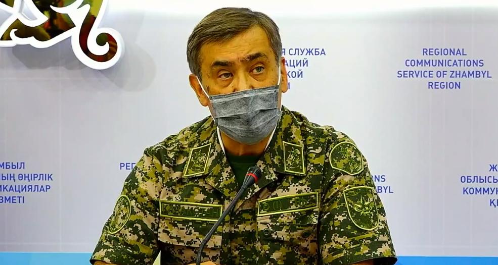 Қорғаныс министрі Жамбылдағы жарылыс қалай болғанын айтып берді