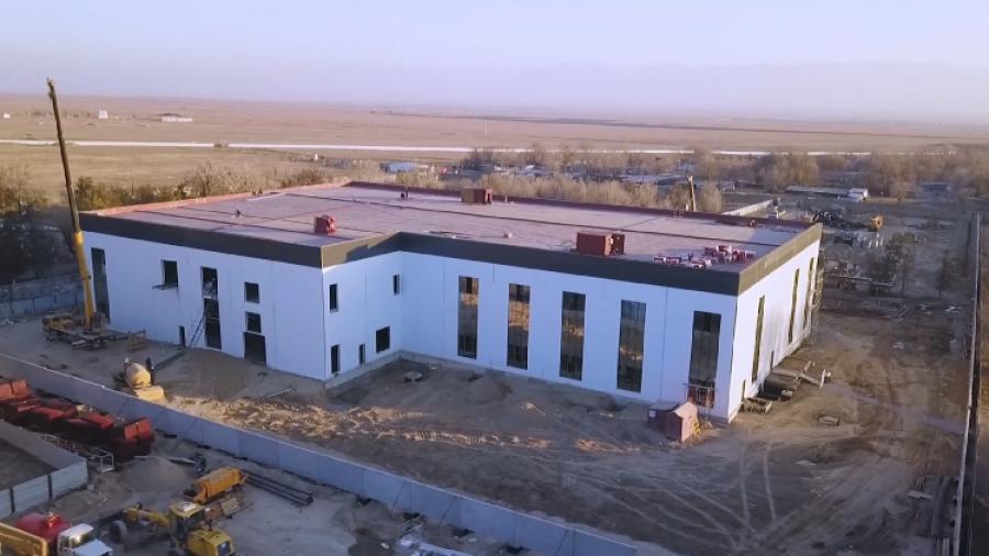Жамбыл облысындағы вакцина өндіретін зауыттың құрылысы аяқталды