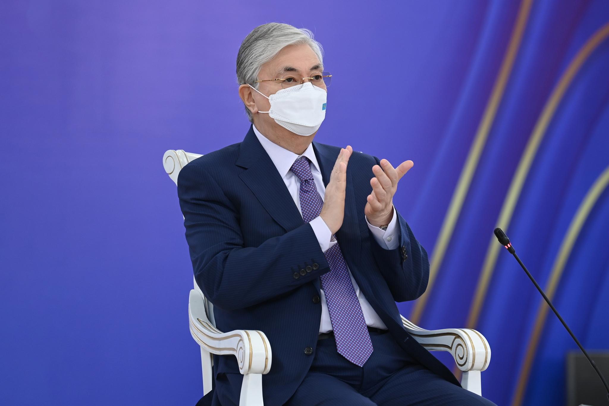 Президент полиметалл кен байыту фабрикасын іске қосу рәсіміне қатысты