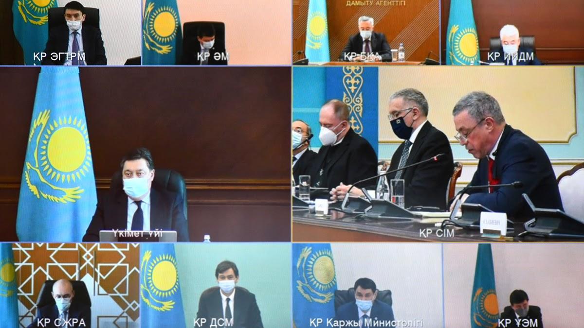 Аскар Мамин обратил внимание на повышение потенциала МФЦА в развитии сотрудничества с фининститутами ЕС