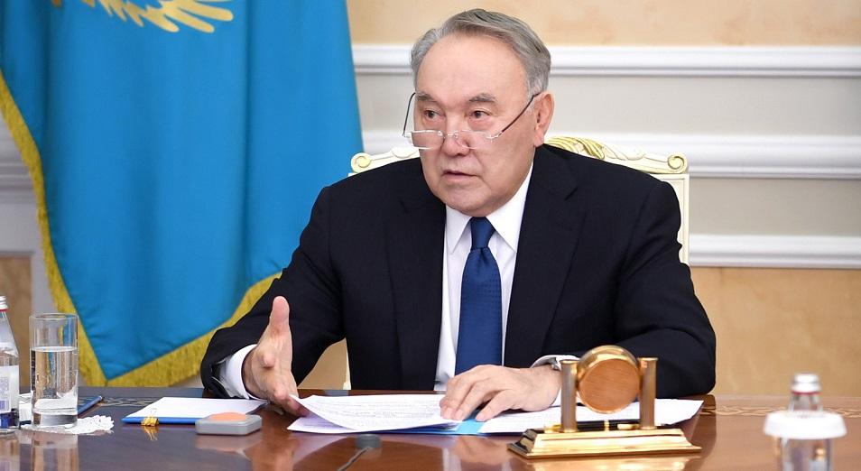 Нурсултан Назарбаев высказался о латинизации алфавита