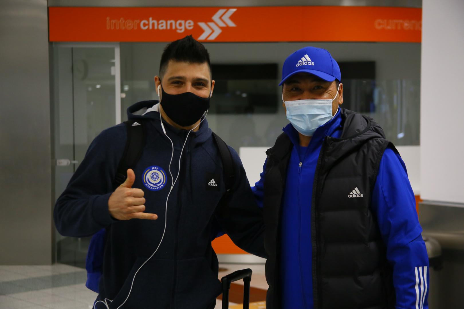 Команда Казахстана по футзалу прибыла в Будапешт