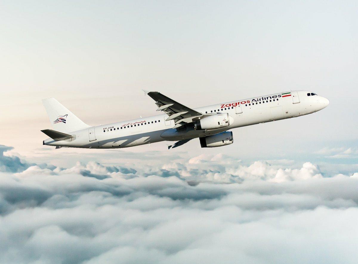 Самолет авиакомпании, не заплатившей за право перелета, вернули в Иран