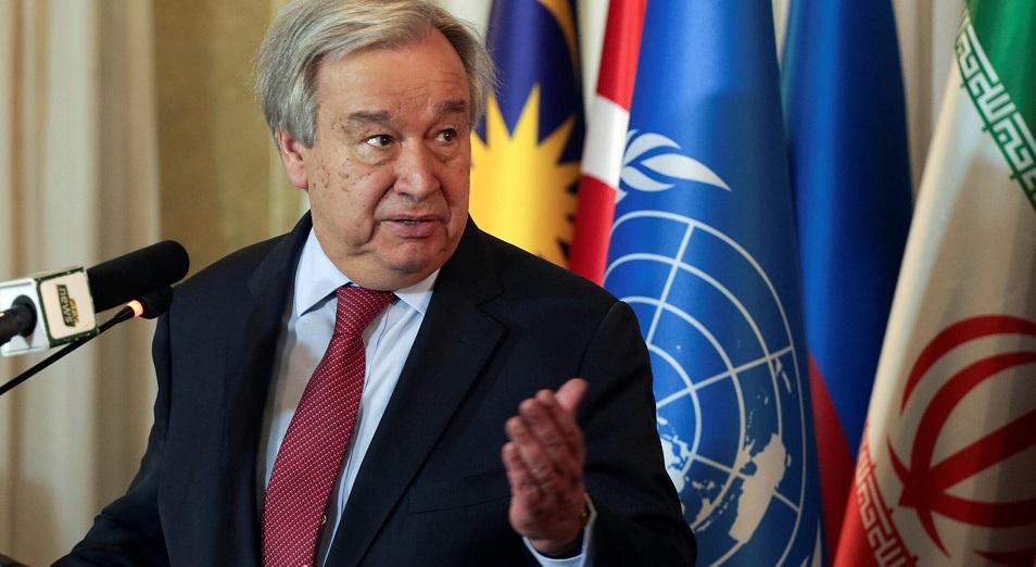 Глава ООН рассказал о двух сценариях развития мира