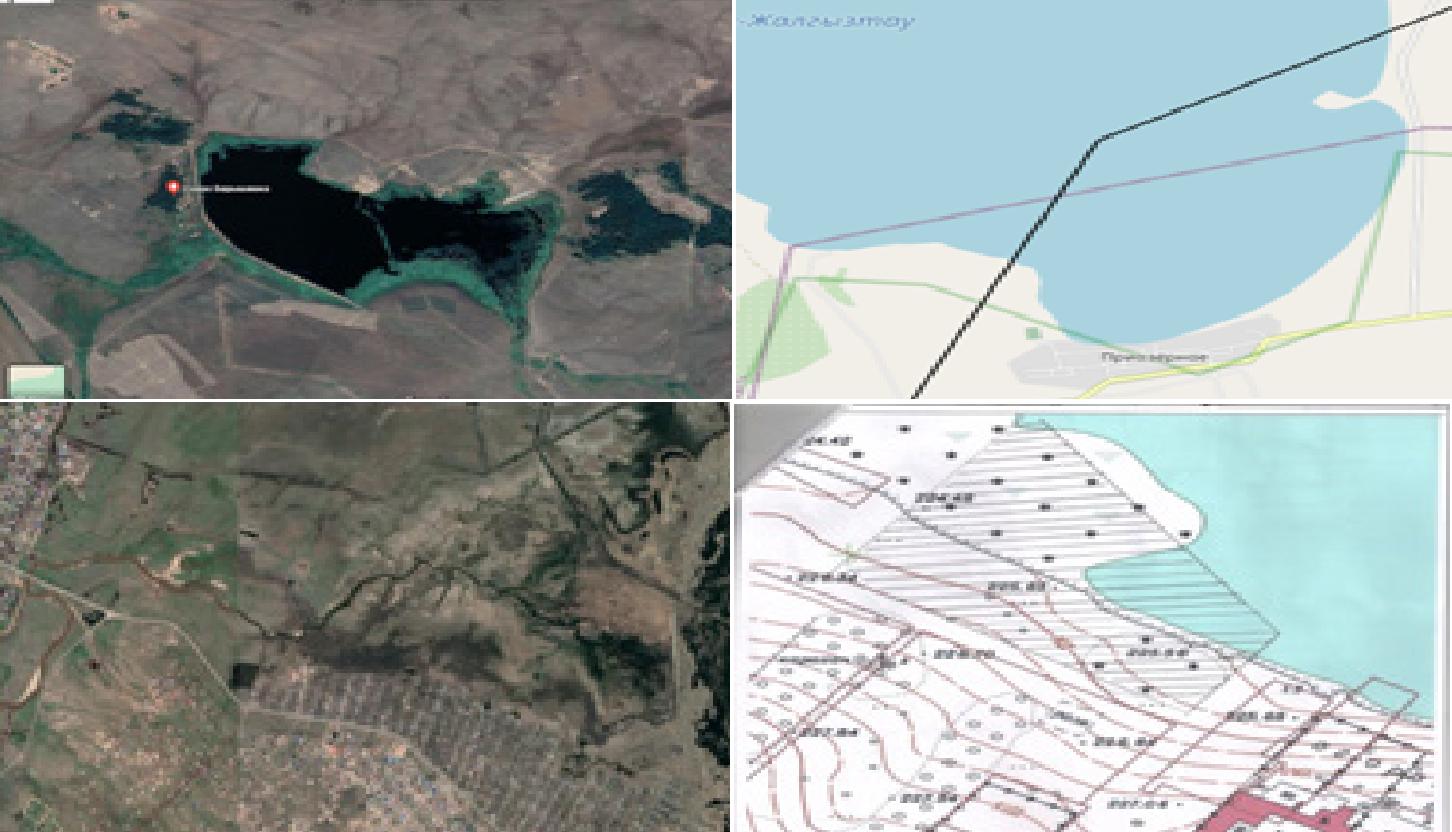 Озера и участки реки отдают в обособленное пользование в Акмолинской области
