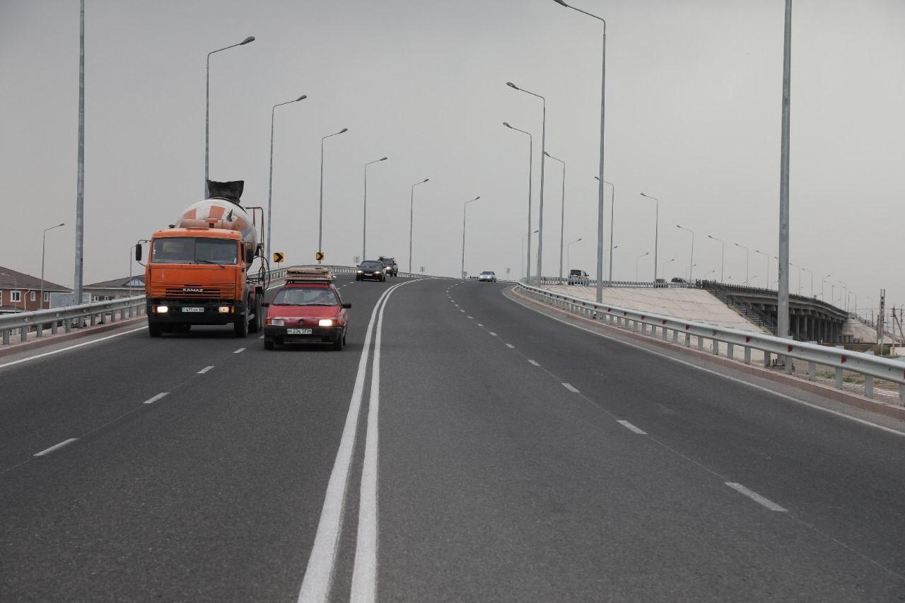 В 3,5 млрд тенге обошлись 16,1 км автодороги на границе с Кыргызстаном