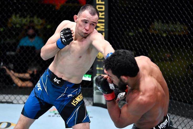 Врач запретил выступать казахстанскому бойцу UFC Дамиру Исмагулову