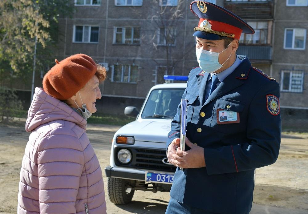 В Павлодарской области открыли модульные пункты полиции