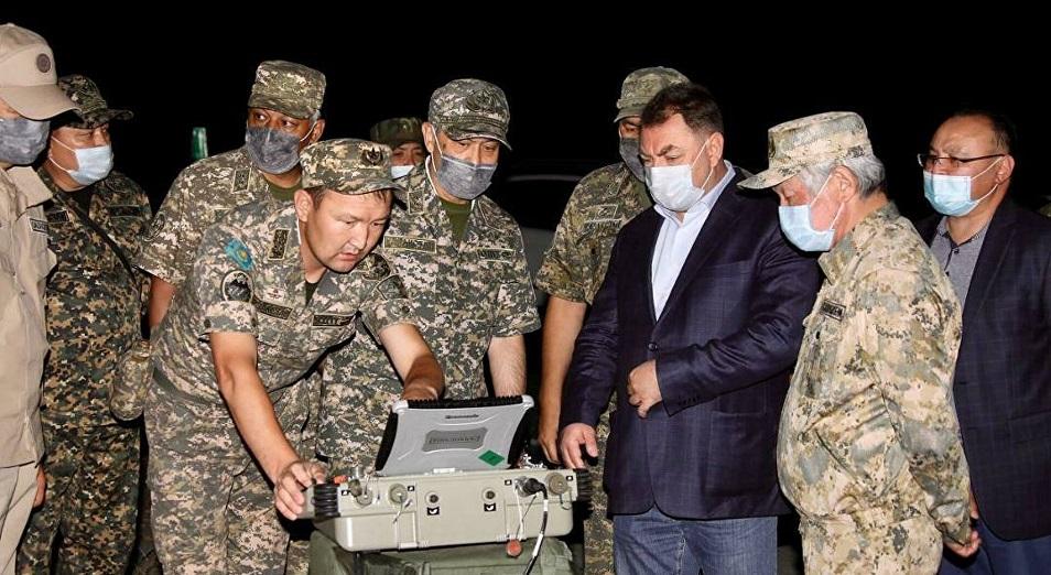 Новый взрыв прогремел на складе боеприпасов в Жамбылской области