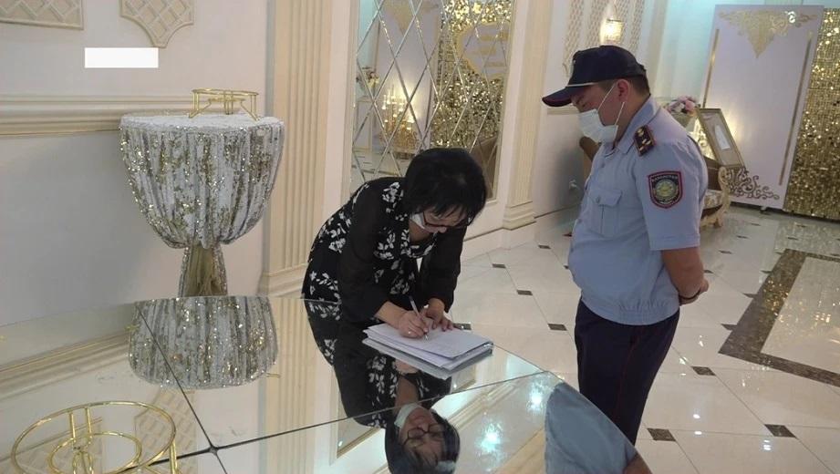 Мониторинговая группа прервала той на 150 человек в Алматы