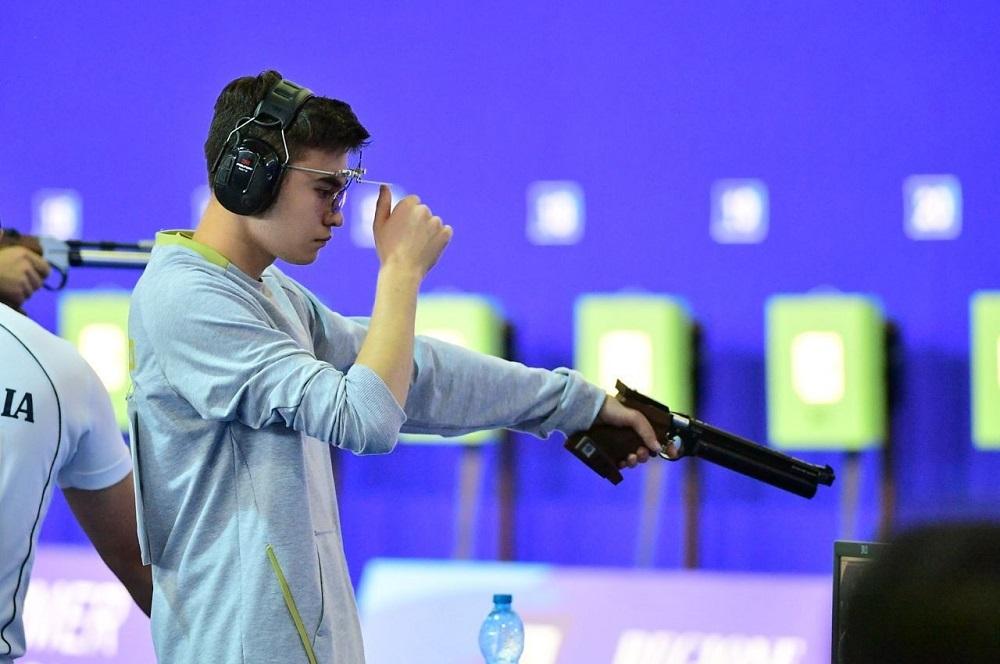Эльдар Иманкулов стал чемпионом Азии по пулевой стрельбе
