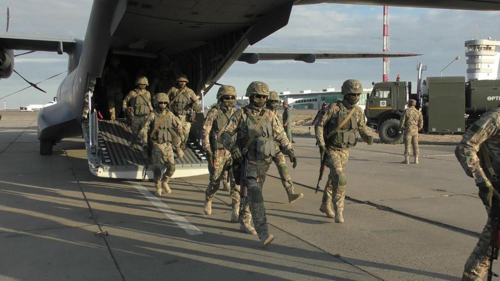 Минобороны РК перебросило войска в западный и южный регионы страны