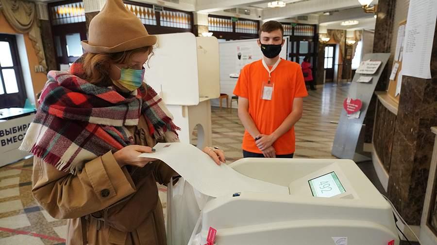 Явка на выборах в Госдуму по России превысила 40%
