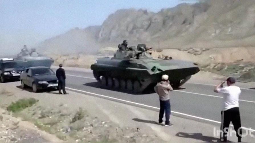 В Кыргызстане объявили траур по погибшим на границе с Таджикистаном