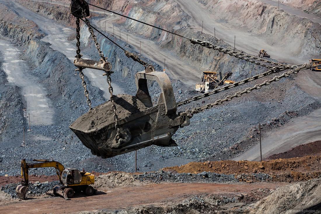 На 21,9% увеличена добыча металлических руд в ВКО