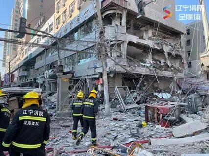 Взрыв газа в провинции Ляонин повредил сотни зданий, есть жертвы