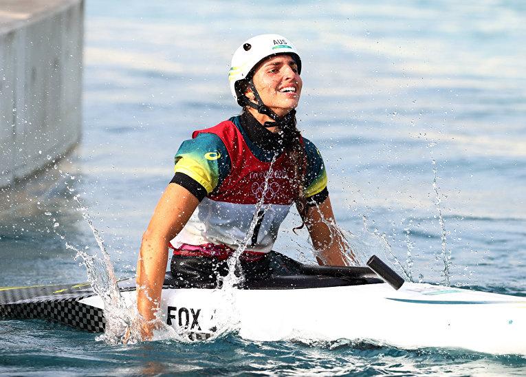 Олимпиада: Джесс Фокс починила каноэ с помощью презерватива и взяла бронзу