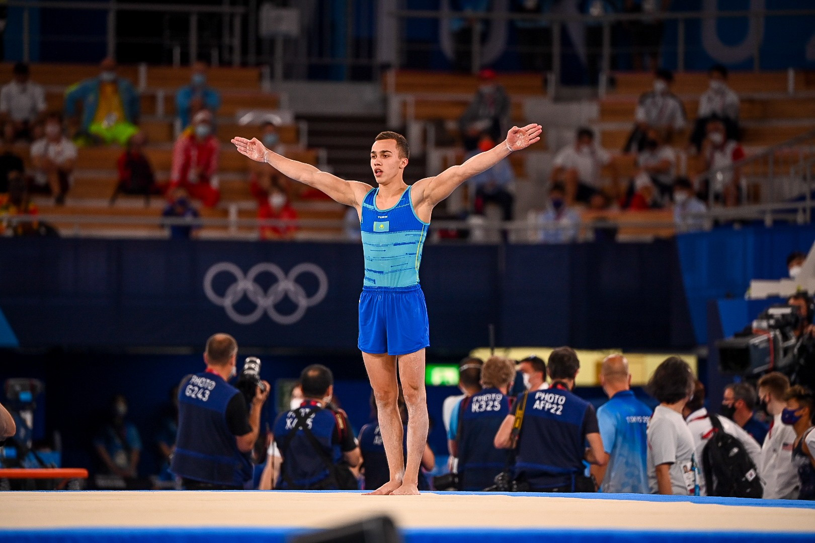 Гимнаст Милад Карими занял пятое место на Олимпийских играх в Токио