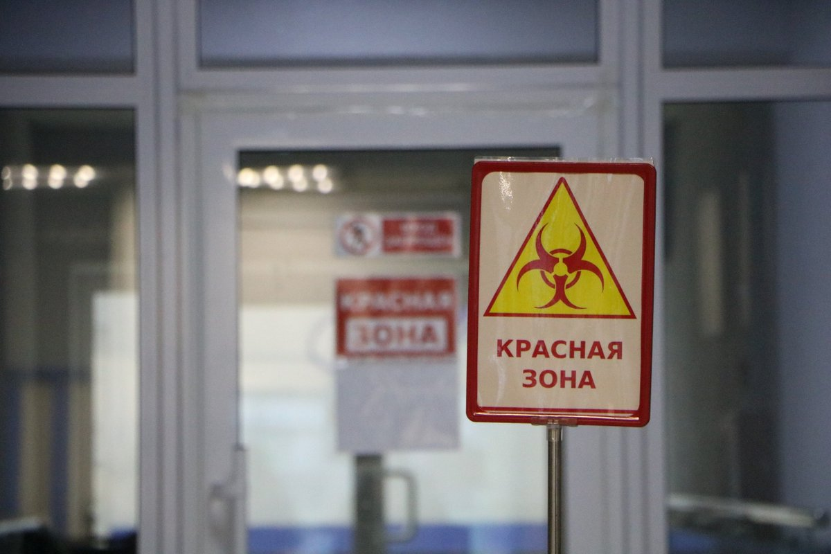 Блогер из Петропавловска выразил желание посетить красную зону инфекционного стационара без средств защиты