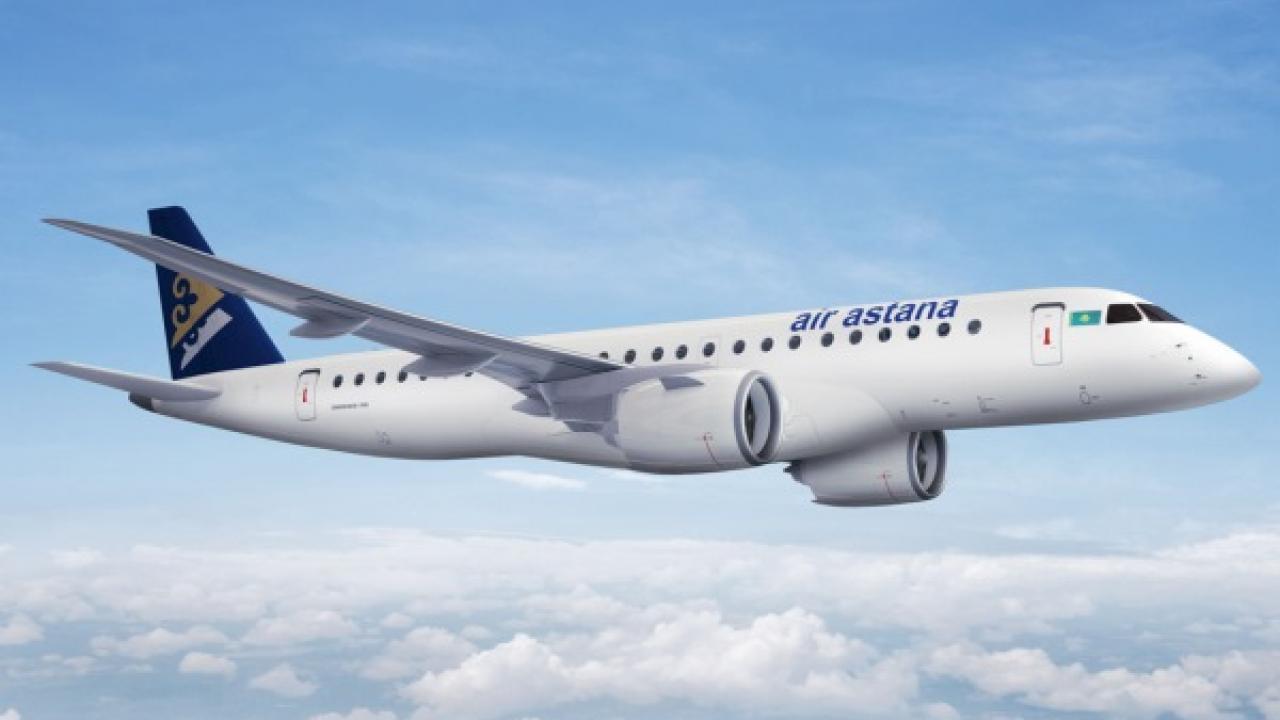Air Astana: посадка Embraer 190 Е2 прошла в штатном режиме