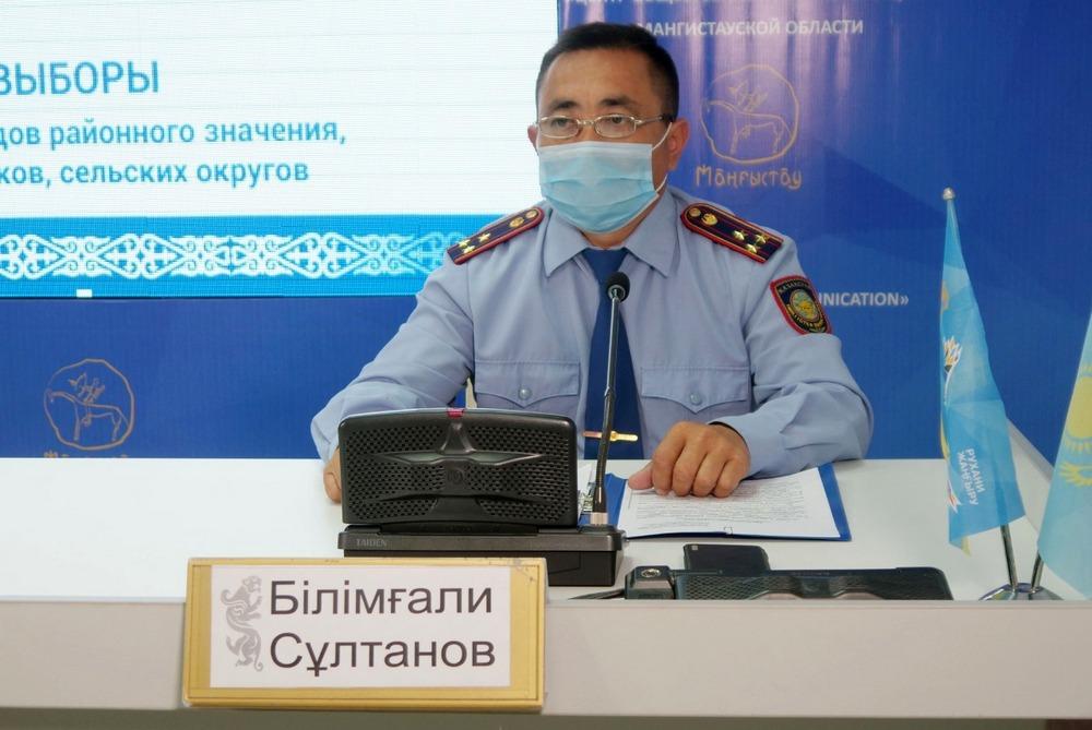 Мангистауских полицейских перевели на усиленный вариант несения службы