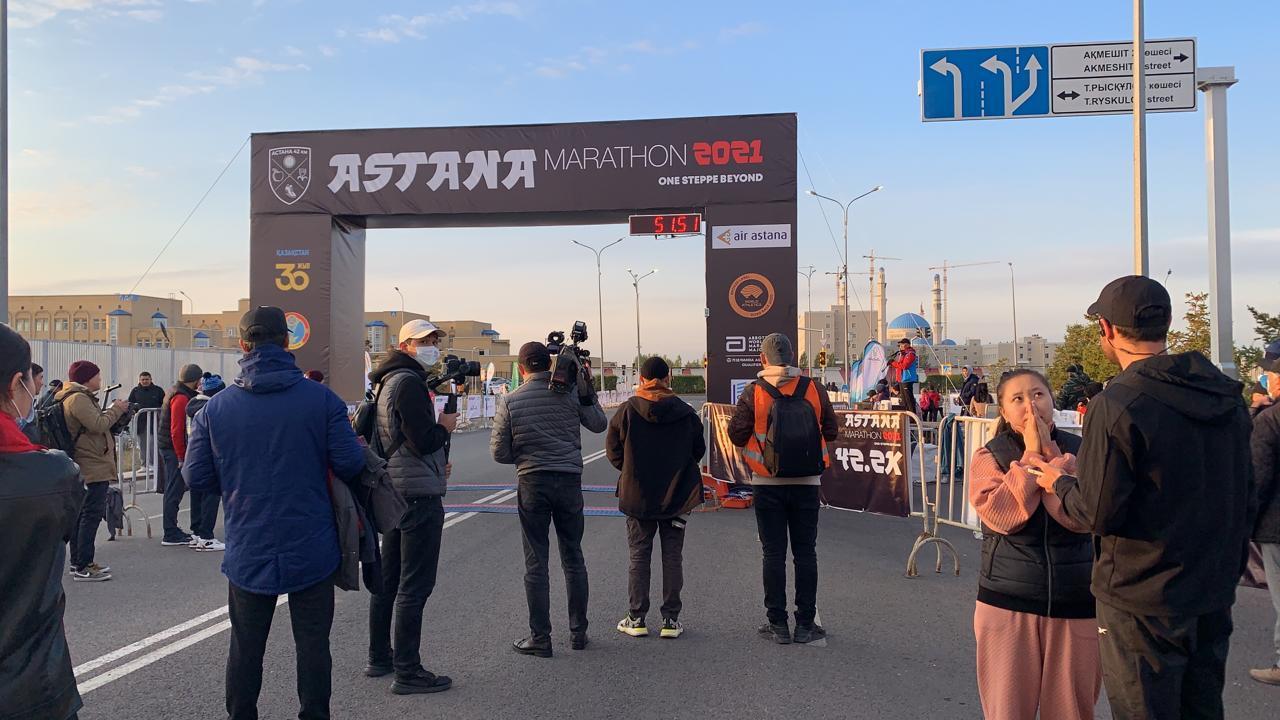 В столице стартовал Astana Marathon 2021