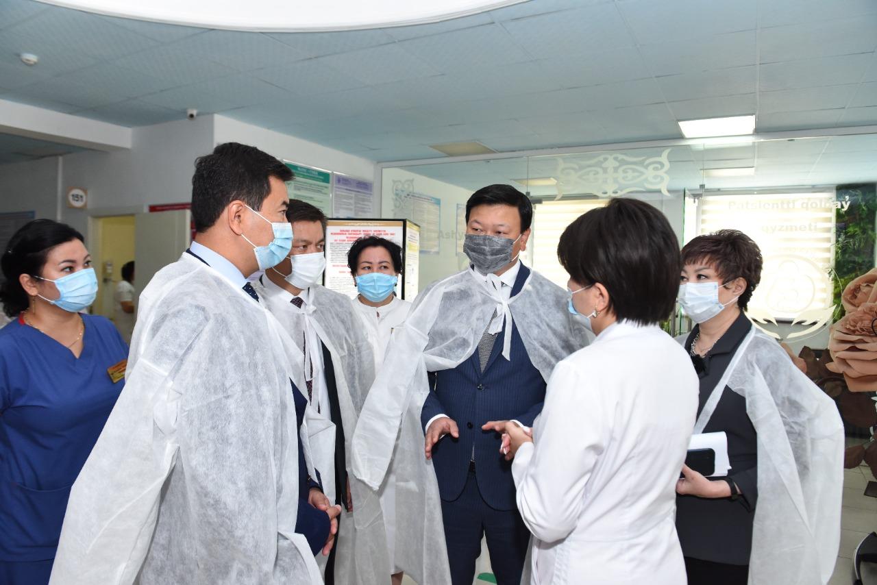 В Шымкенте зарегистрировано свыше 17 тысяч случаев заражения COVID-19