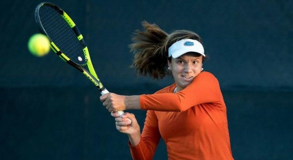 Данилина сыграет в финале парного разряда французского турнира ITF