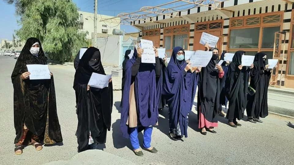 Талибы применили газ для разгона женской демонстрации в Кабуле