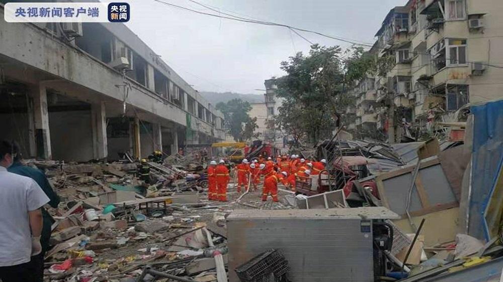 В результате взрыва газовой трубы в Шияне погибли 12 человек