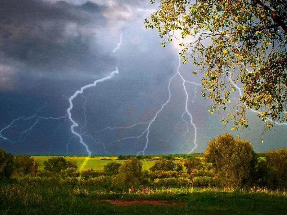 Прогноз погоды на 14 июня: гроза и сильный ветер ожидаются в некоторых регионах РК