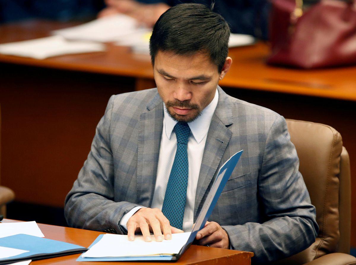 Сенатор и чемпион по боксу Мэнни Пакьяо выдвинул свою кандидатуру на пост президента Филиппин