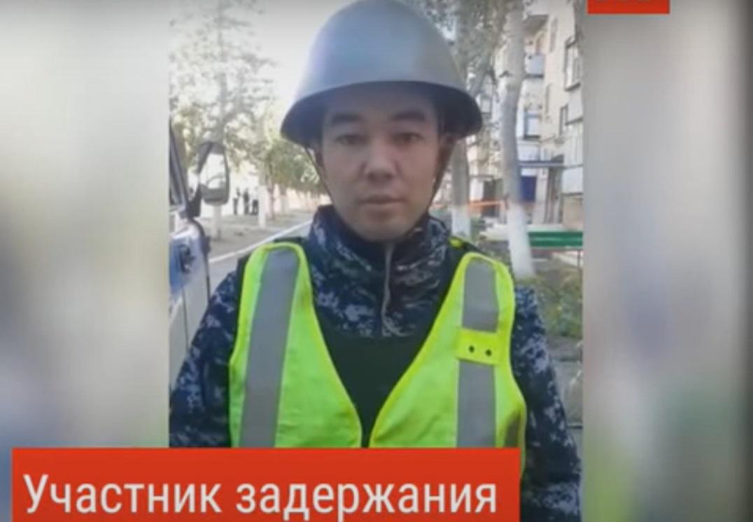 Как задерживали стрелка в Лисаковске