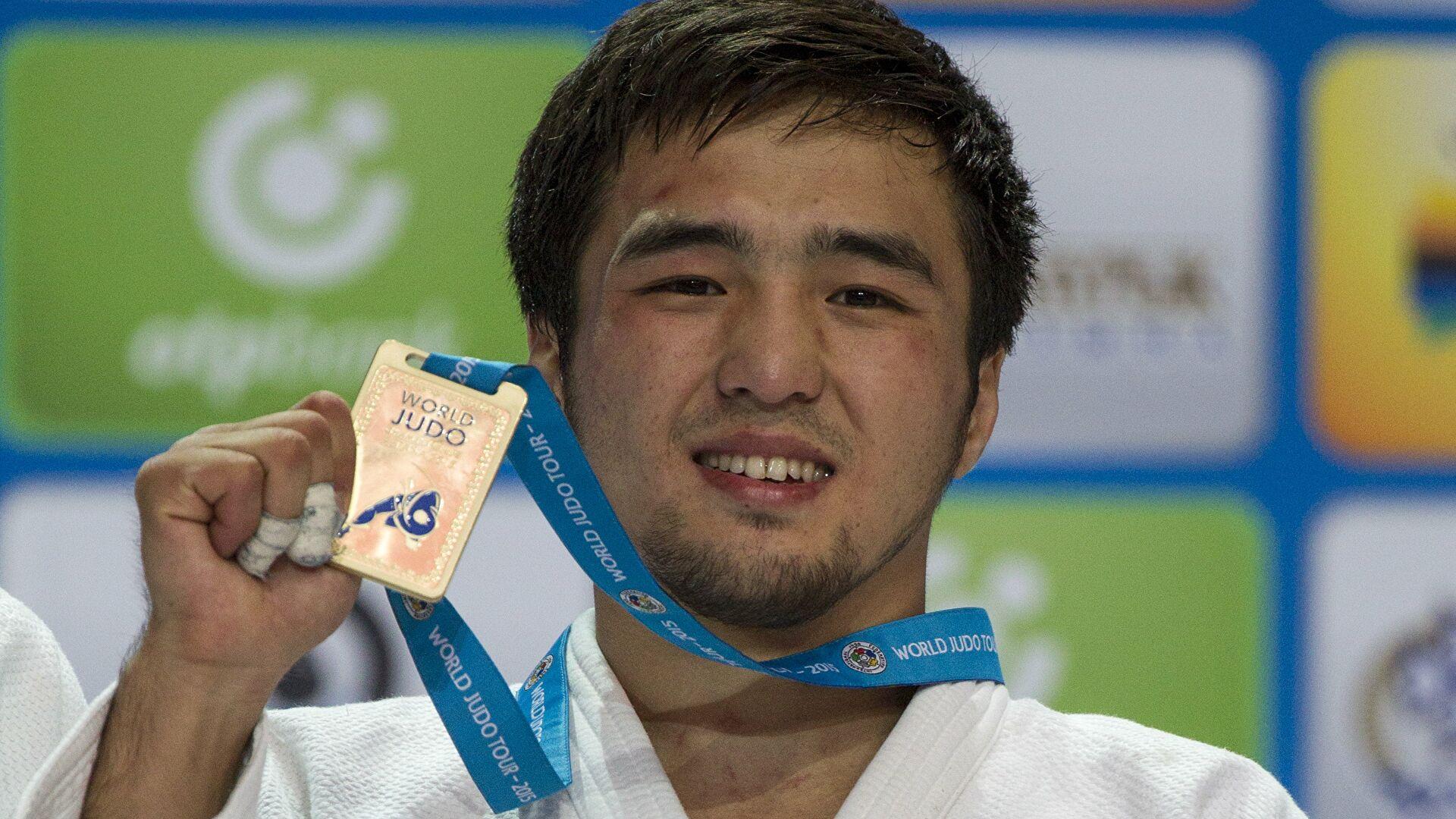 Первую медаль в Токио принес Казахстану дзюдоист Елдос Сметов
