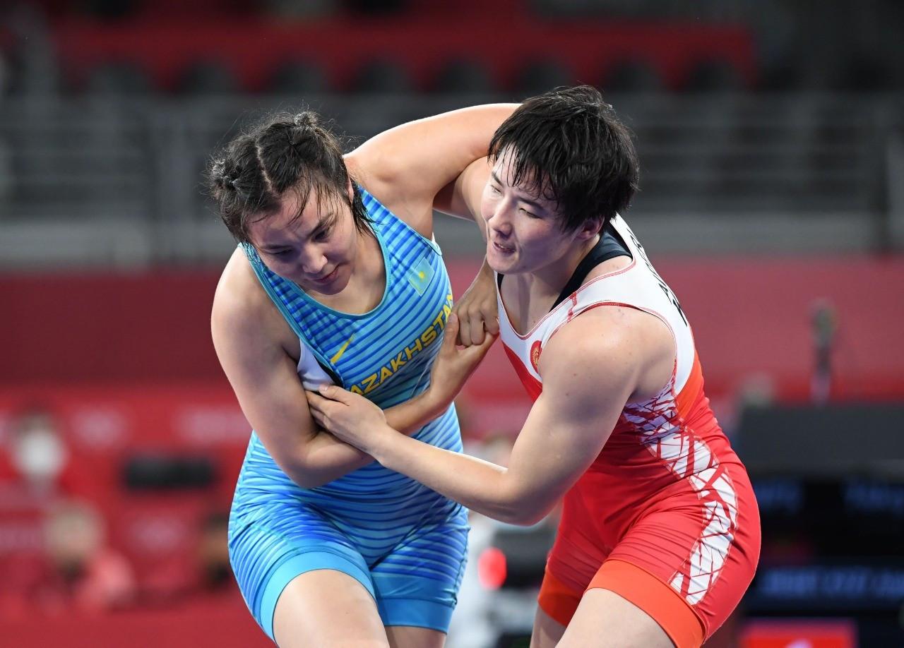 Эльмира Сыздыкова уступила в 1/8 финала Олимпийских игр – 2020