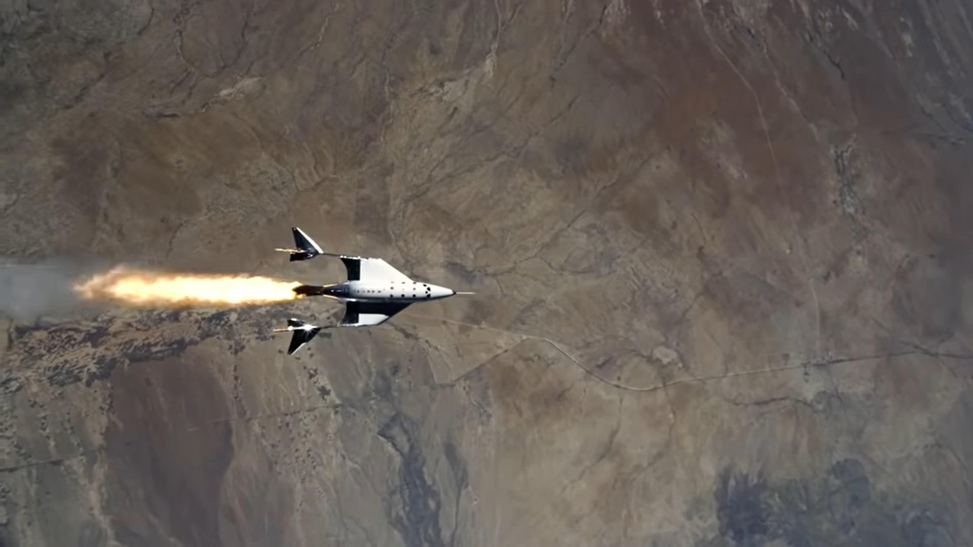 Сегодня состоится суборбитальный полет корабля Virgin Galactic Unity с Ричардом Брэнсоном на борту