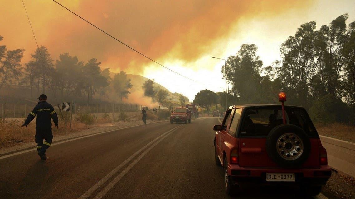 В Греции и в Италии бушуют пожары
