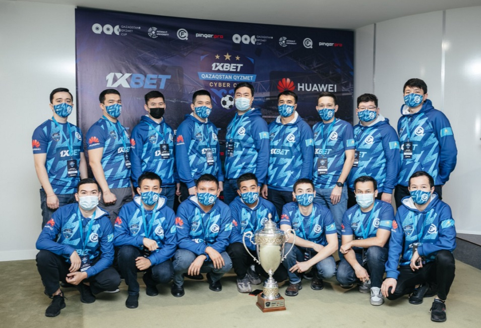 1XBET Qazaqstan Qyzmet Cyber Cup выиграл столичный полицейский