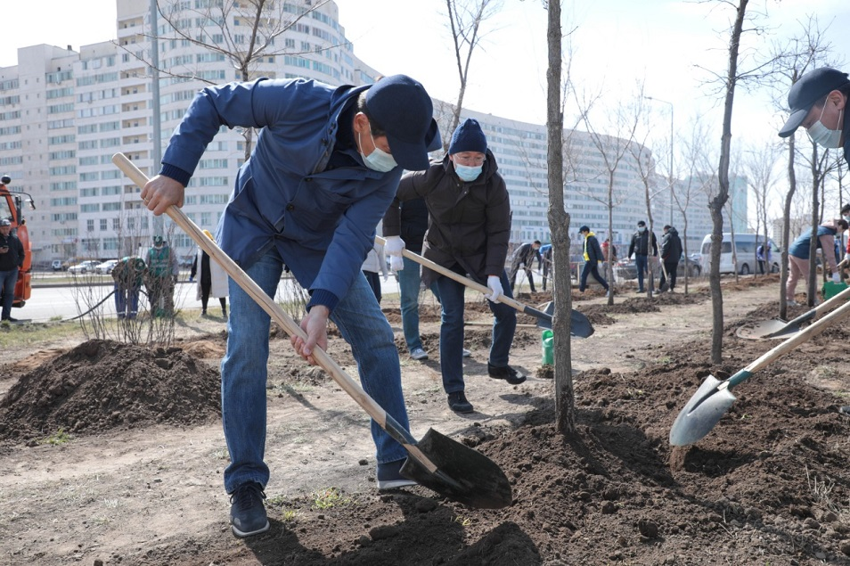 В столице обещают создать зеленые «островки»