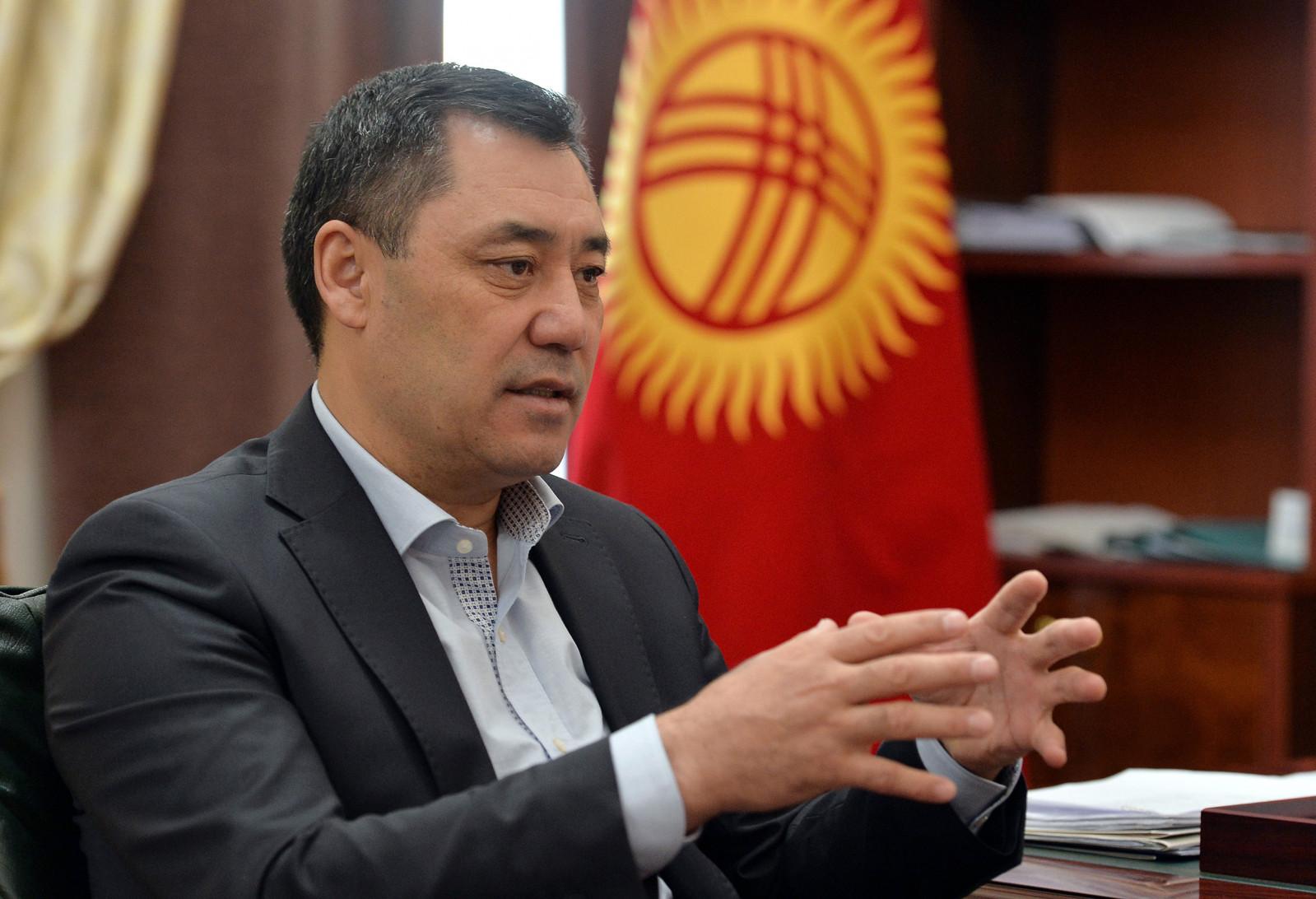Садыр Жапаров ответил на вопрос о размещении американской базы в стране