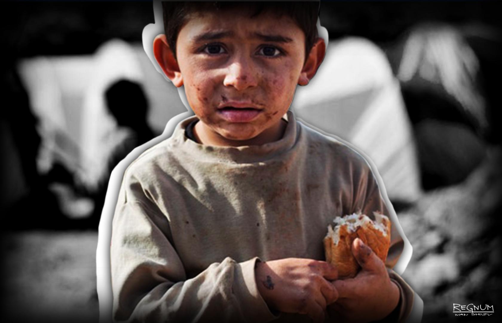 Миллионам юных афганцев грозит голодная смерть