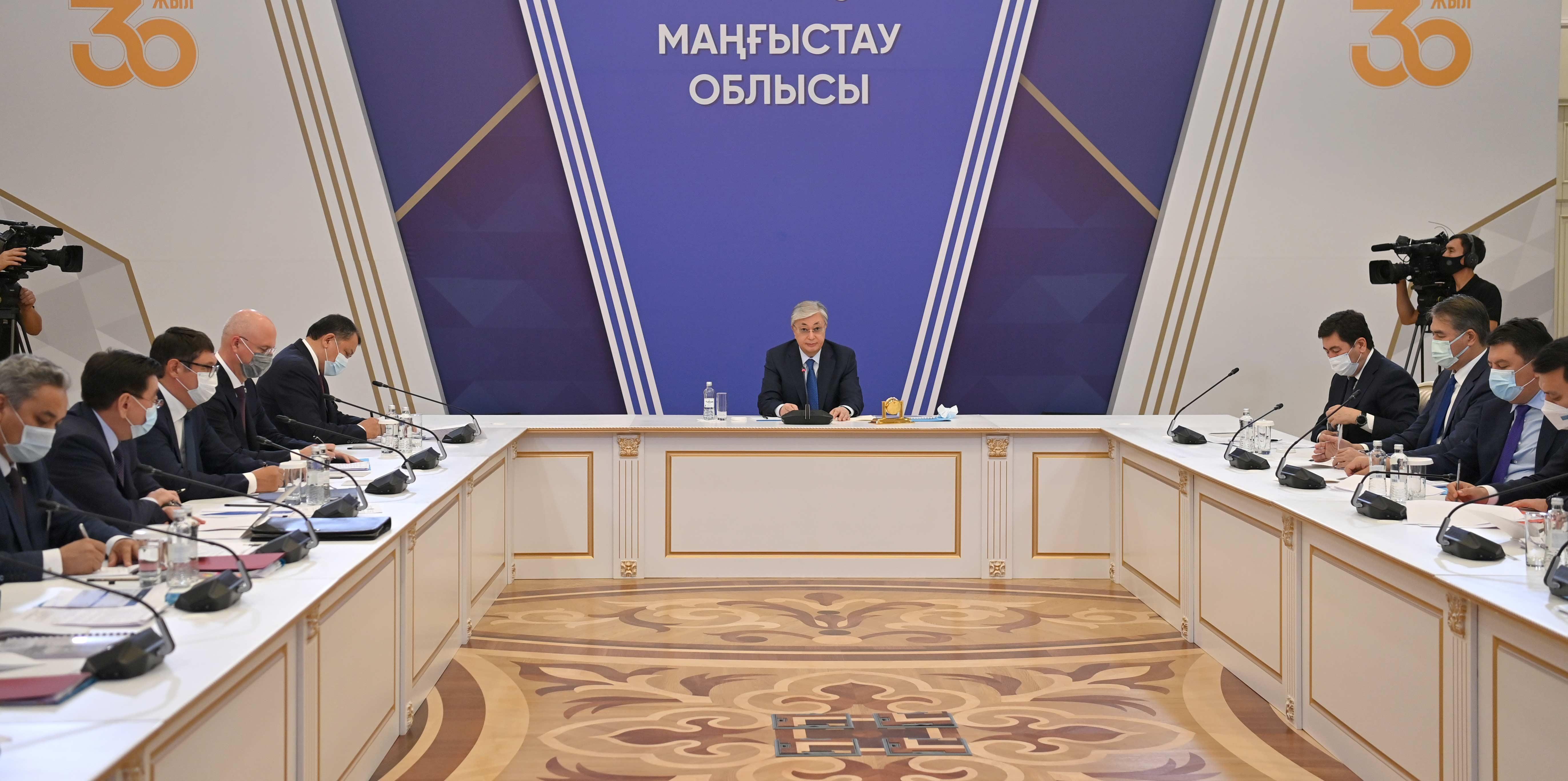 Президент объяснил назначение Ногаева акимом Мангистауской области