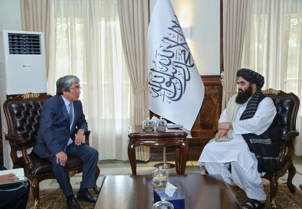 О чем говорил посол Казахстана с и. о. министра иностранных дел Афганистана