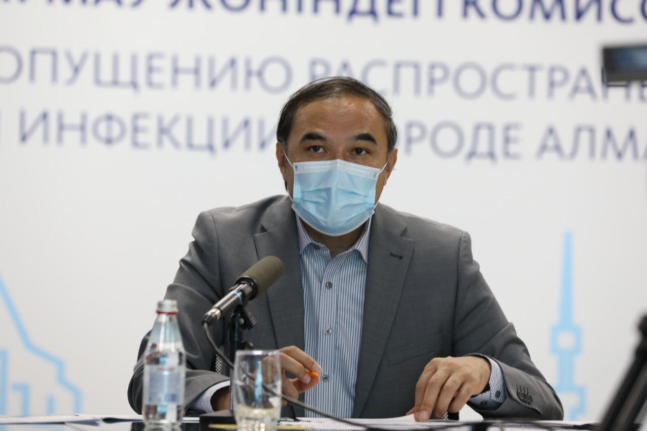 В Алматы разворачивают резервные  инфекционные койки