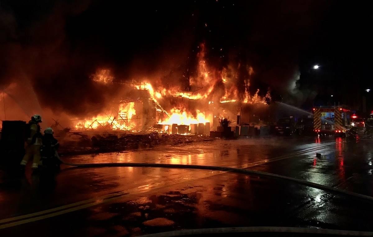 25 человек погибли в результате пожара на юге Тайваня