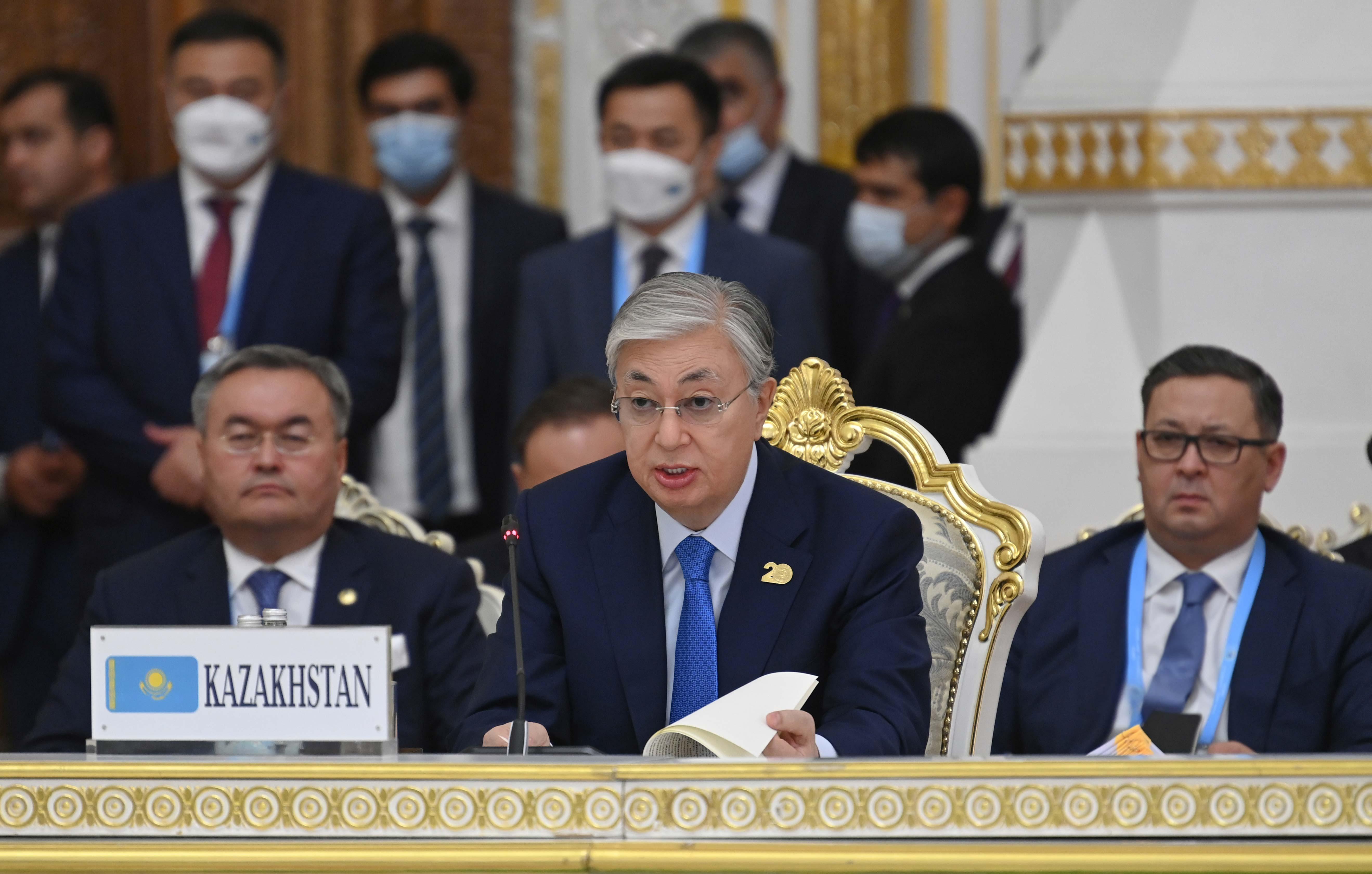 Токаев призвал к  неформальному диалогу с новыми властями Афганистана