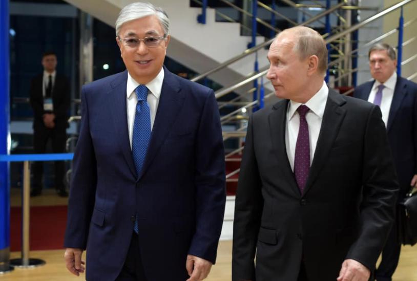 Токаев и Путин встретятся на площадке онлайн-форума в Кокшетау