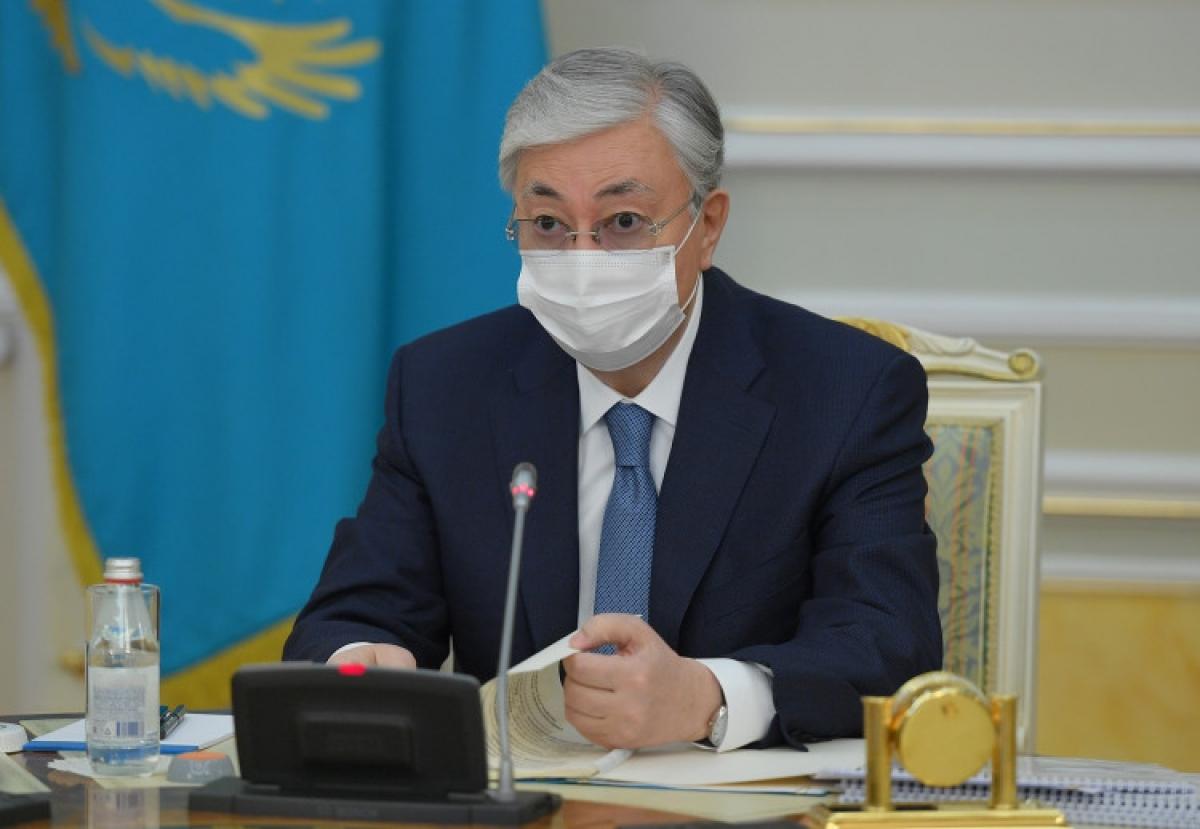 Токаев обратился к казахстанцам
