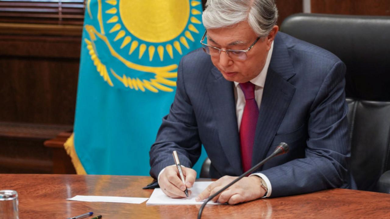 Токаев произвел назначения в судах страны